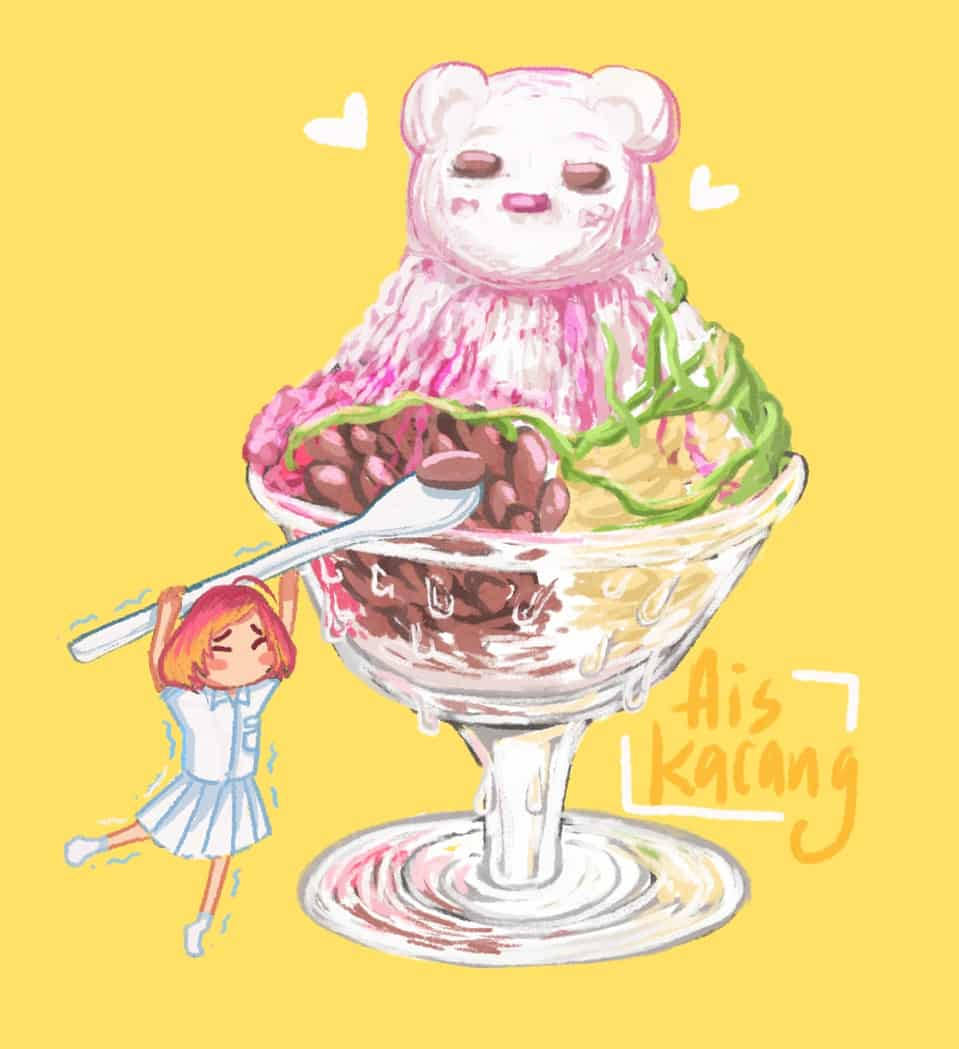 マレーシアの食べ物 #10 - デザート Illust of xiin_ruu_ October2020_Contest:Food art girl food original illustration デザート oc