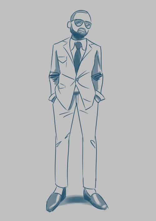 #MedsFallFashionChallenge Illust of lrnart97 medibangpaint iPad_raffle Fashion drawing Challenge