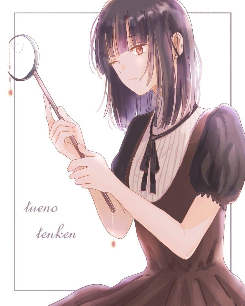 魔女の日課/杖の点検 Illust of 熊谷ユカ original witch 魔法使い 杖 girl kawaii oc