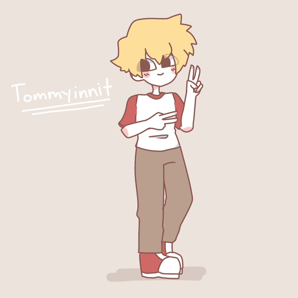 Tommyinnit Illust of Doll medibangpaint