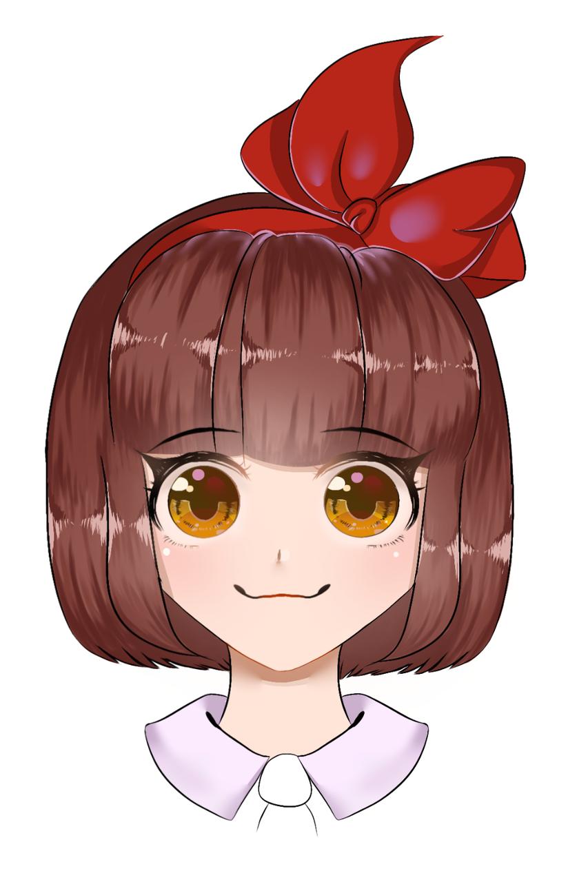 Anime girl  Illust of Infinite stylez medibangpaint animegirl anime ribbon