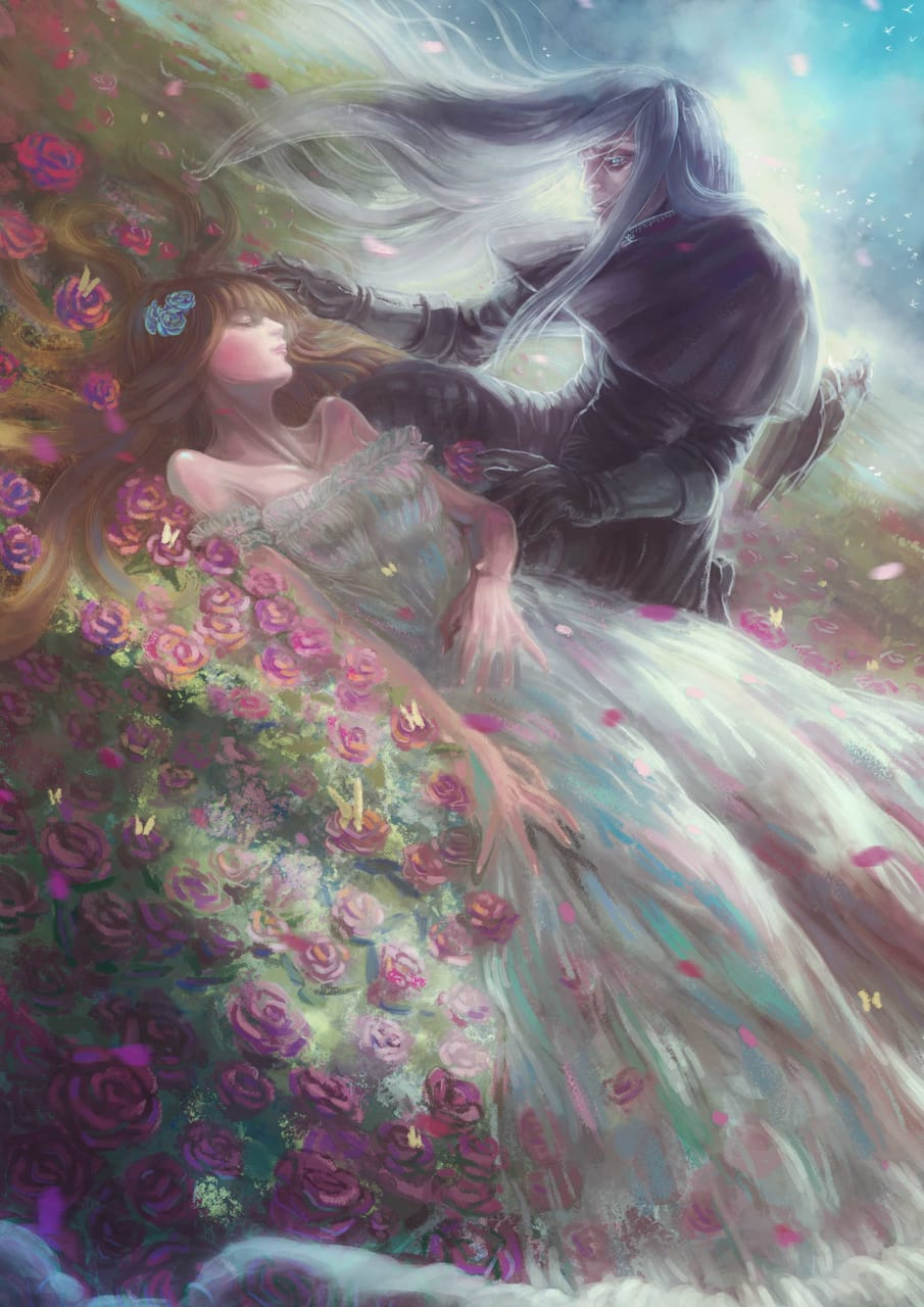 終點 Illust of 平庸人 April2021_Flower