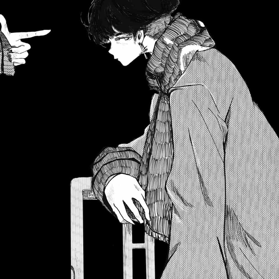 Bang Illust of Jojodoboro ARTstreet_Ranking August2020_Contest:Horror Cool original Bang manga Shot