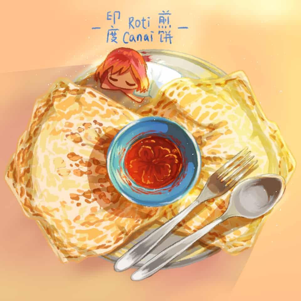 マレーシアの食べ物 #2 Illust of xiin_ruu_ October2020_Contest:Food original illustration food medibangpaint art Malaysia
