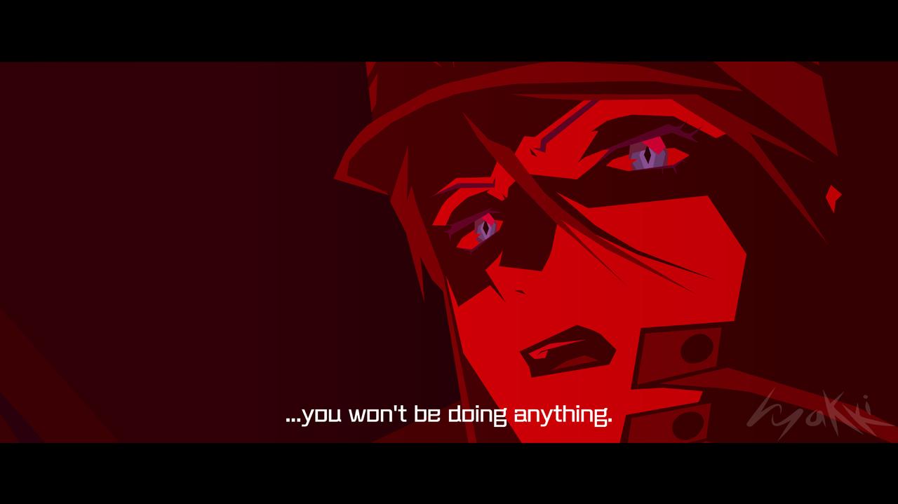 You can (not) redo Illust of hyakki EVANGELION anime Misato redraw