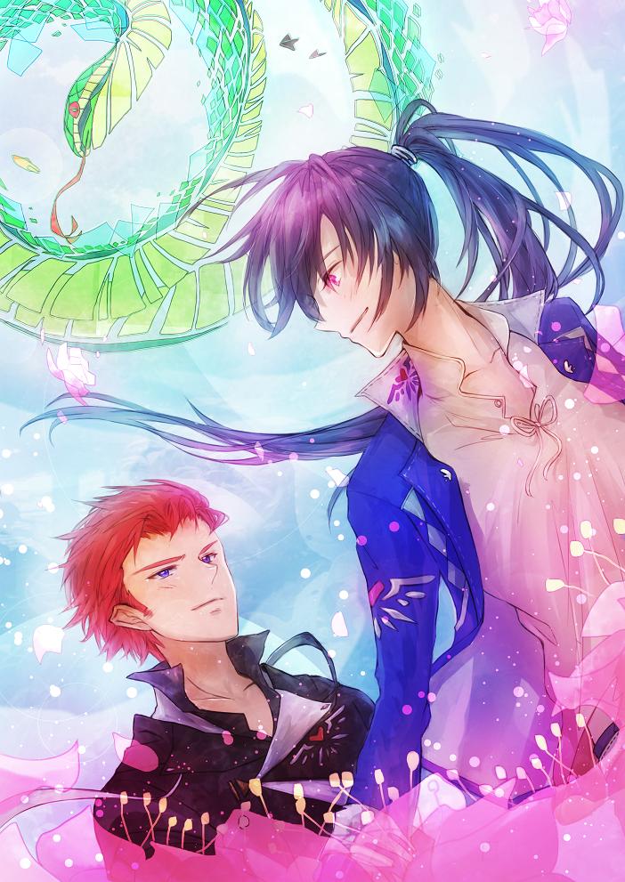 希望の花 Illust of KiLEi BL fantasy original イラストレーション 表紙絵