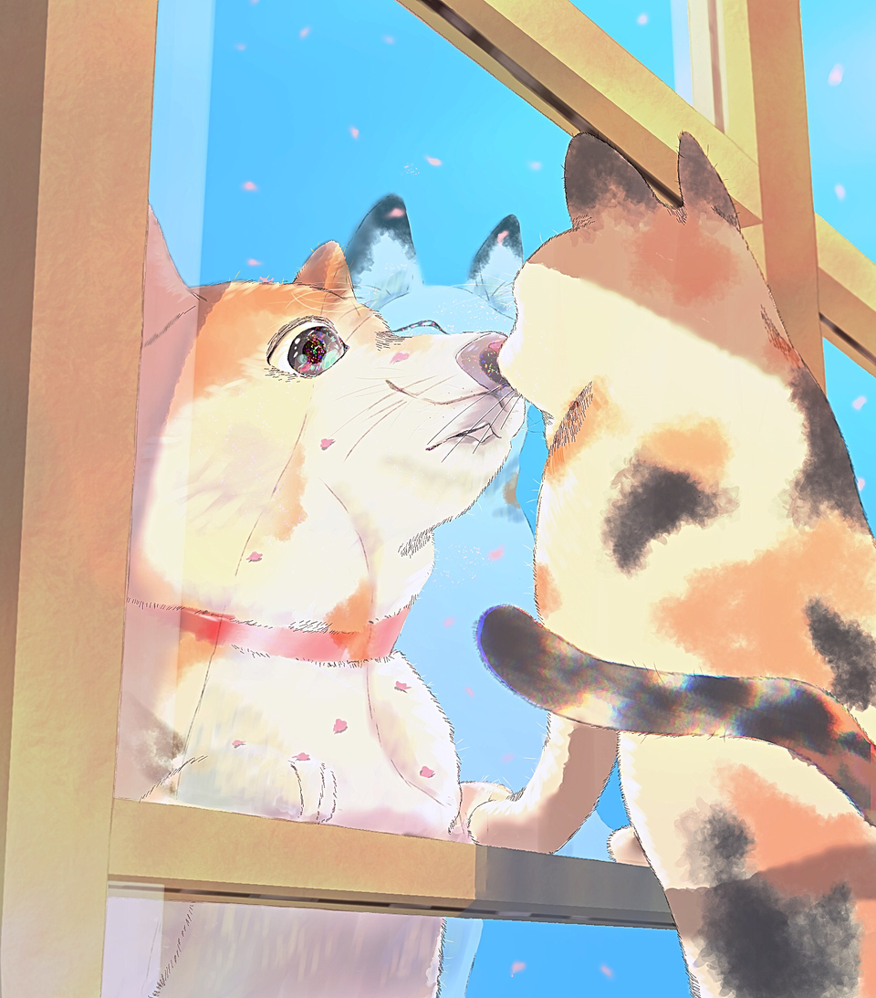 派閥?なにそれ?おいしいの? Illust of You DOGvsCAT_CAT cat dog