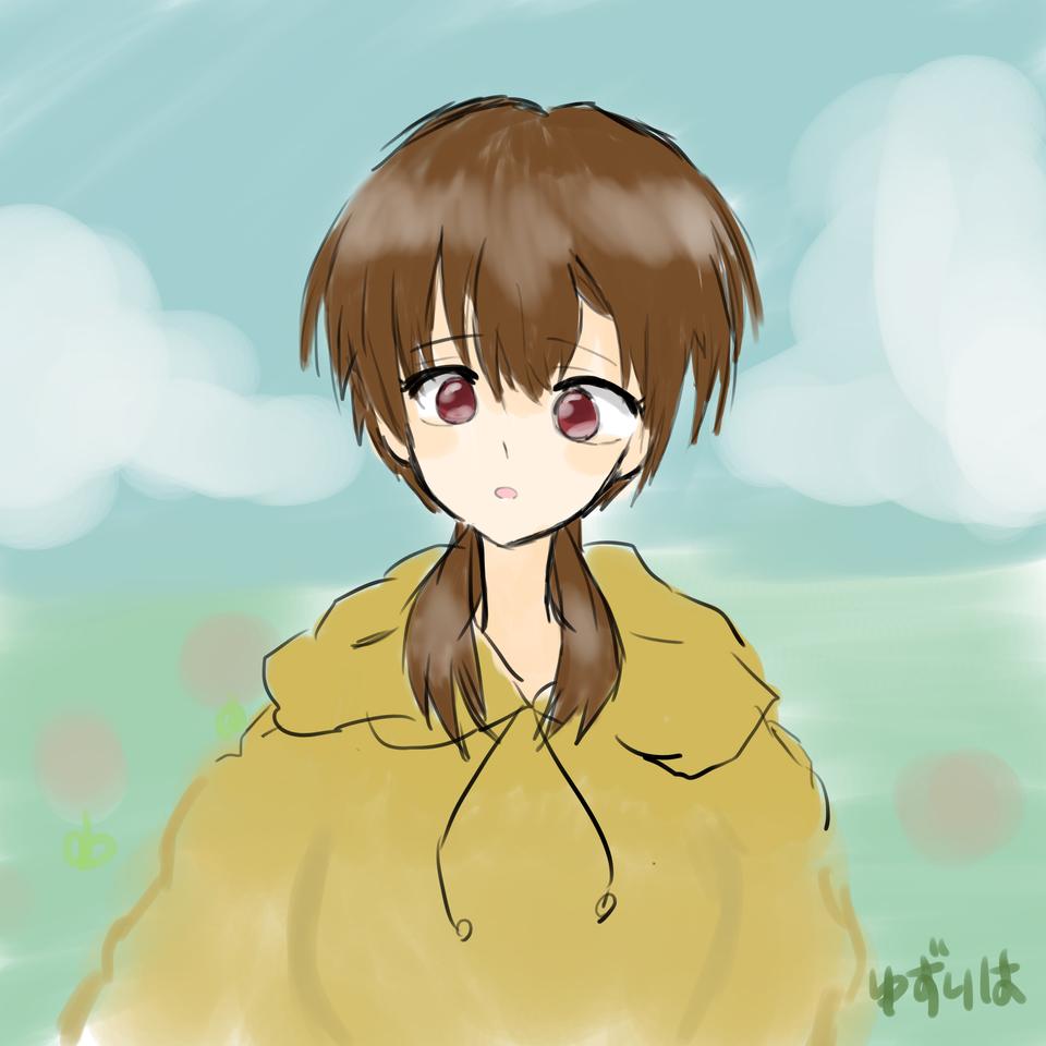ワンドロ!(女の子) Illust of ゆずりは medibangpaint nature girl レッツワンドロ