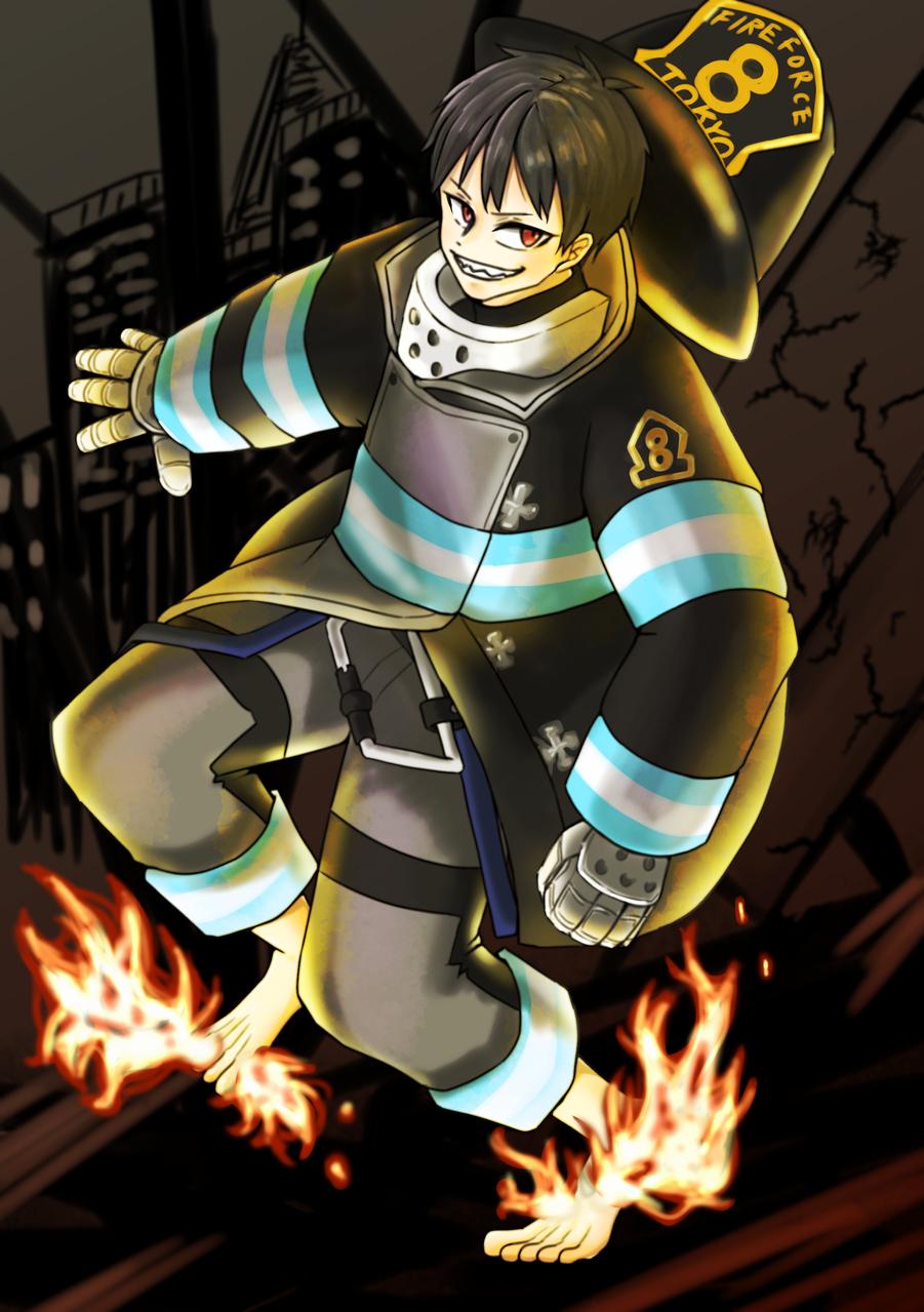炎炎ノ消防隊🔥kusakabe shinra