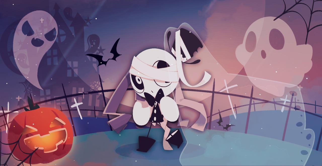 미리 해피 할로윈~ Illust of Ellie🎗 Holloween oc Halloween
