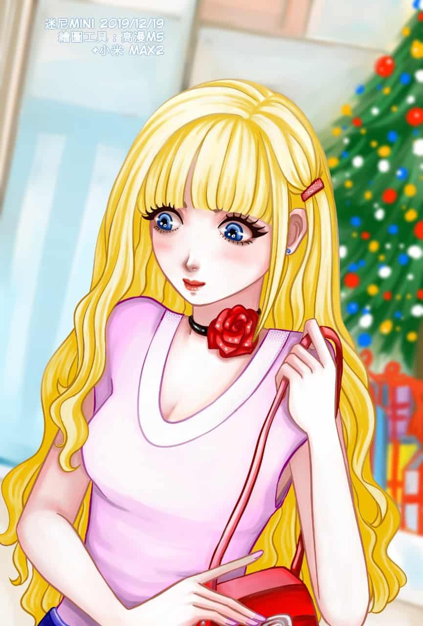 ^^圖:2019/12/19耶誕節購物^^