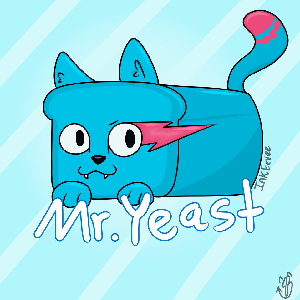 Mr.Yeast :3  Illust of InkEevee medibangpaint