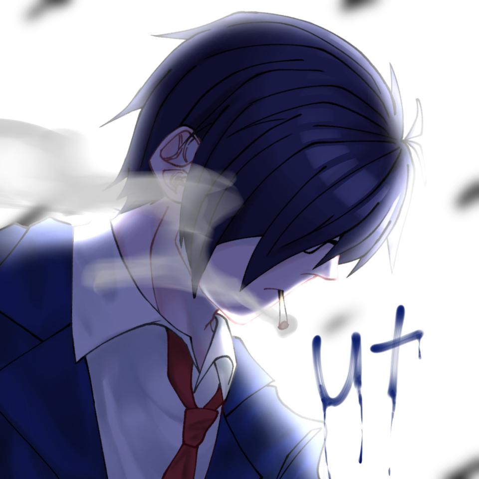 ut🚬 Illust of 猫丸(犬) ○○の主役は我々だ! 実況者 鬱先生 版権