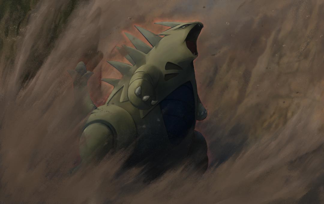 第二回ポケモンカードイラストコンテストへの応募した作(供養) Illust of 鼻屋 ミロカロス Lucario バンギラス pokemon