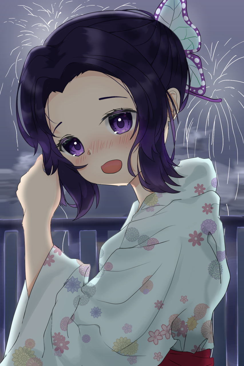 胡蝶 しのぶ Illust of wacon DemonSlayerFanartContest KimetsunoYaiba KochouShinobu