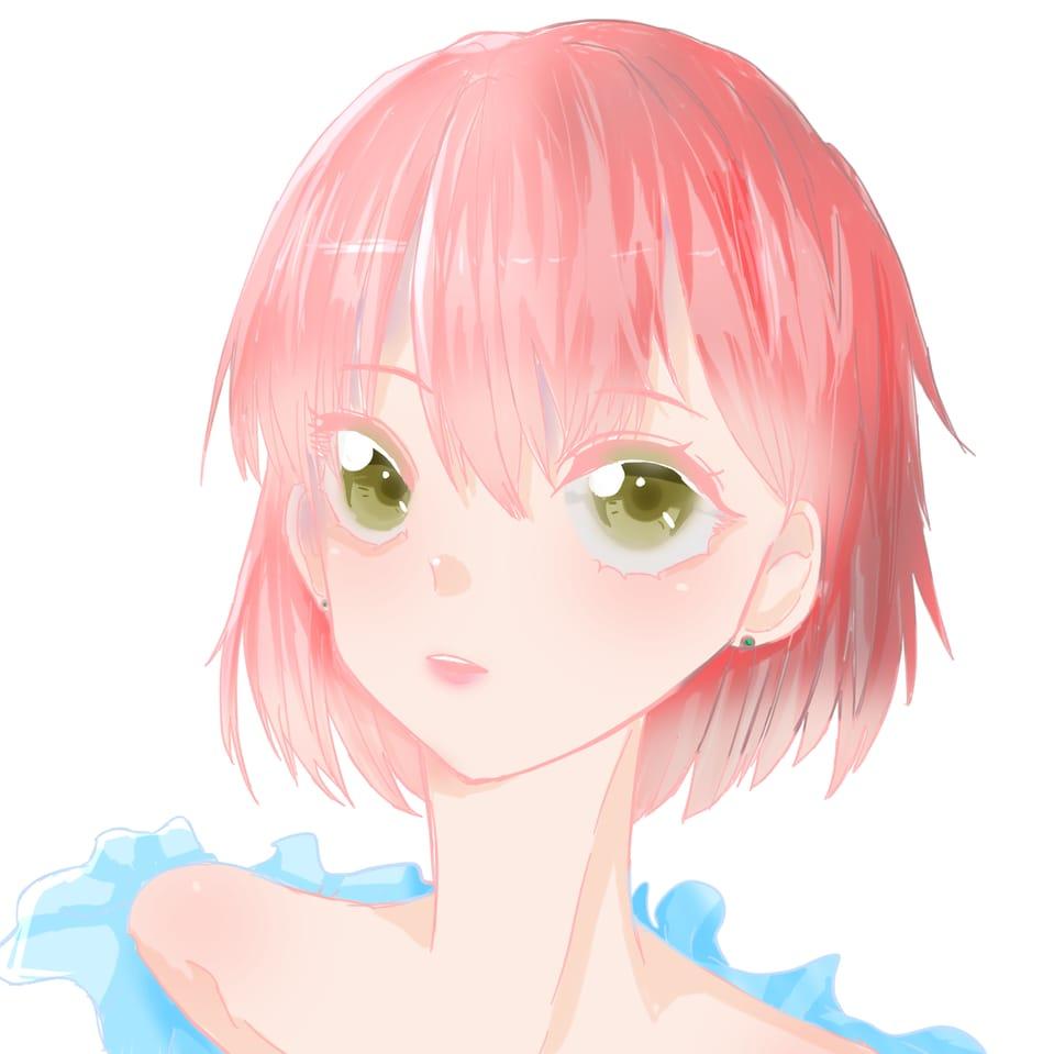 女の子で見る成長記録 Illust of おみそ#田舎同盟 illustration girl CLIPSTUDIOPAINT