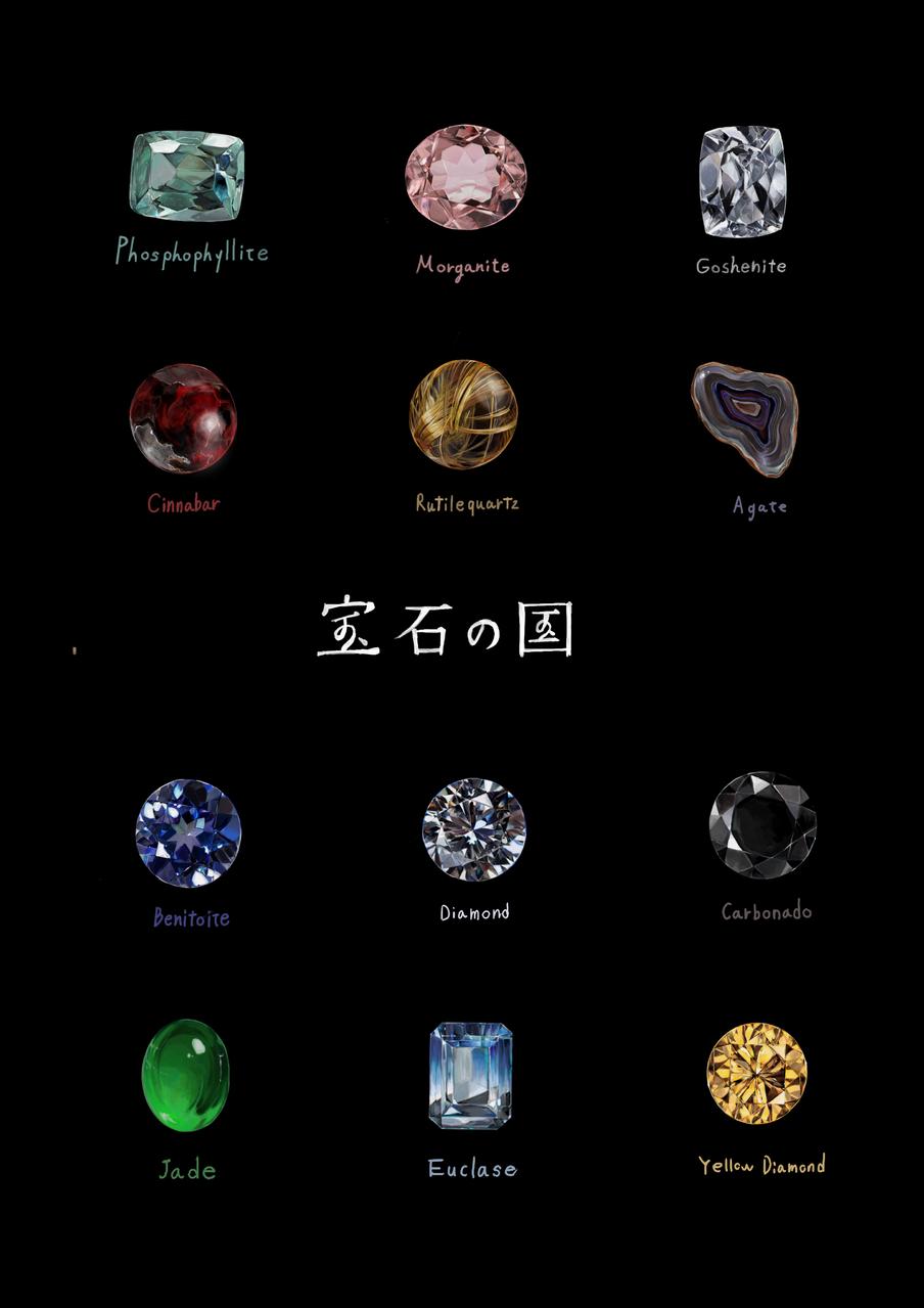 宝石の国 Illust of saku medibangpaint Land_of_the_Lustrous 宝石