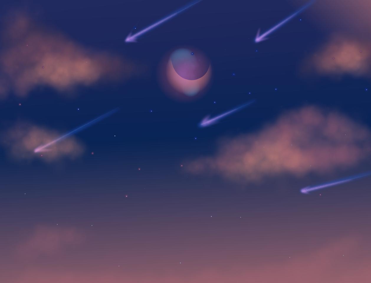 Sunset Illust of Jav_2.20C drawingdigital
