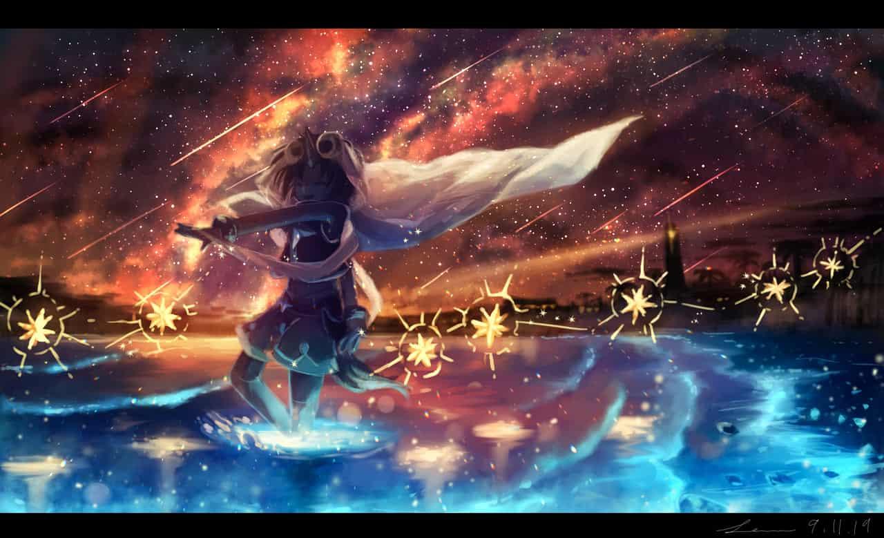 「星満ちる西果ての海岸」