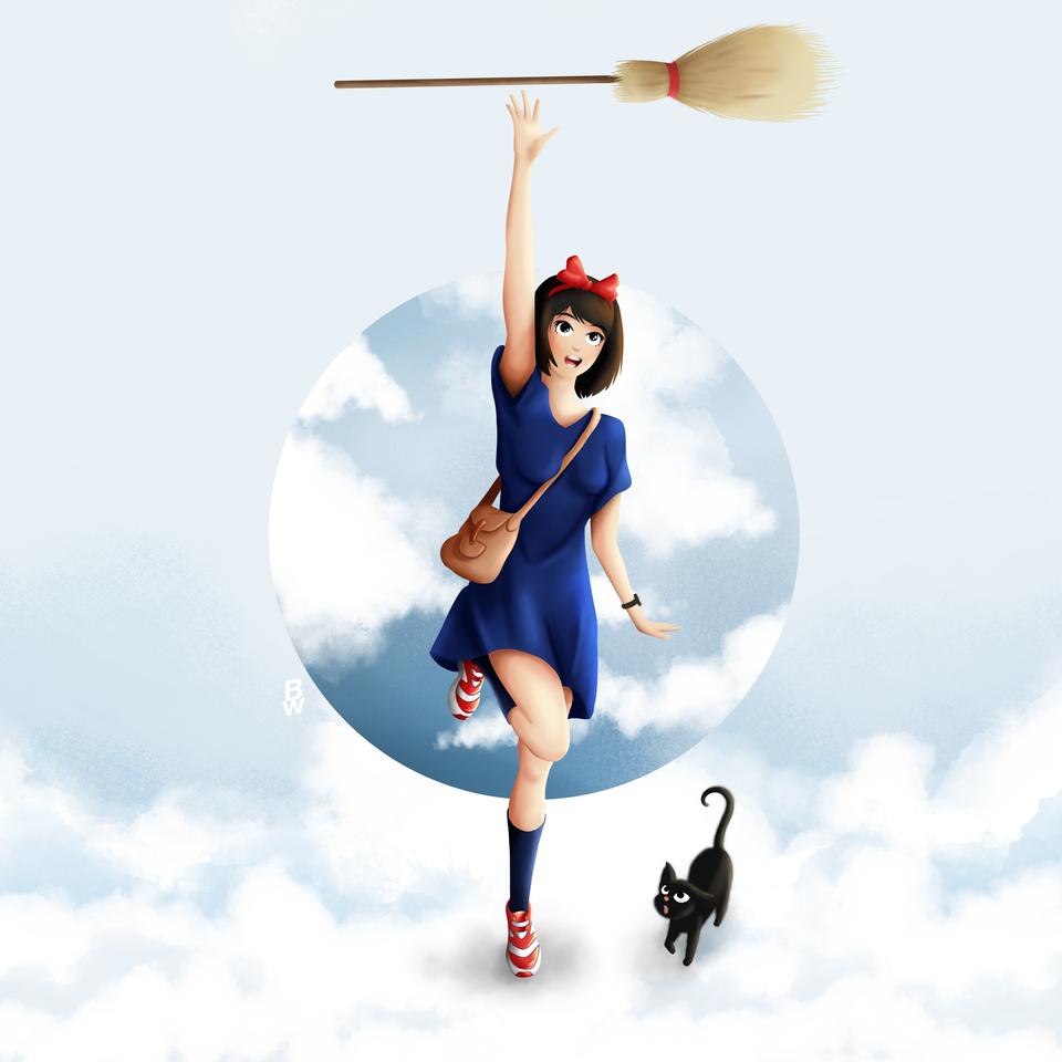 Kiki's Delivery Fanart