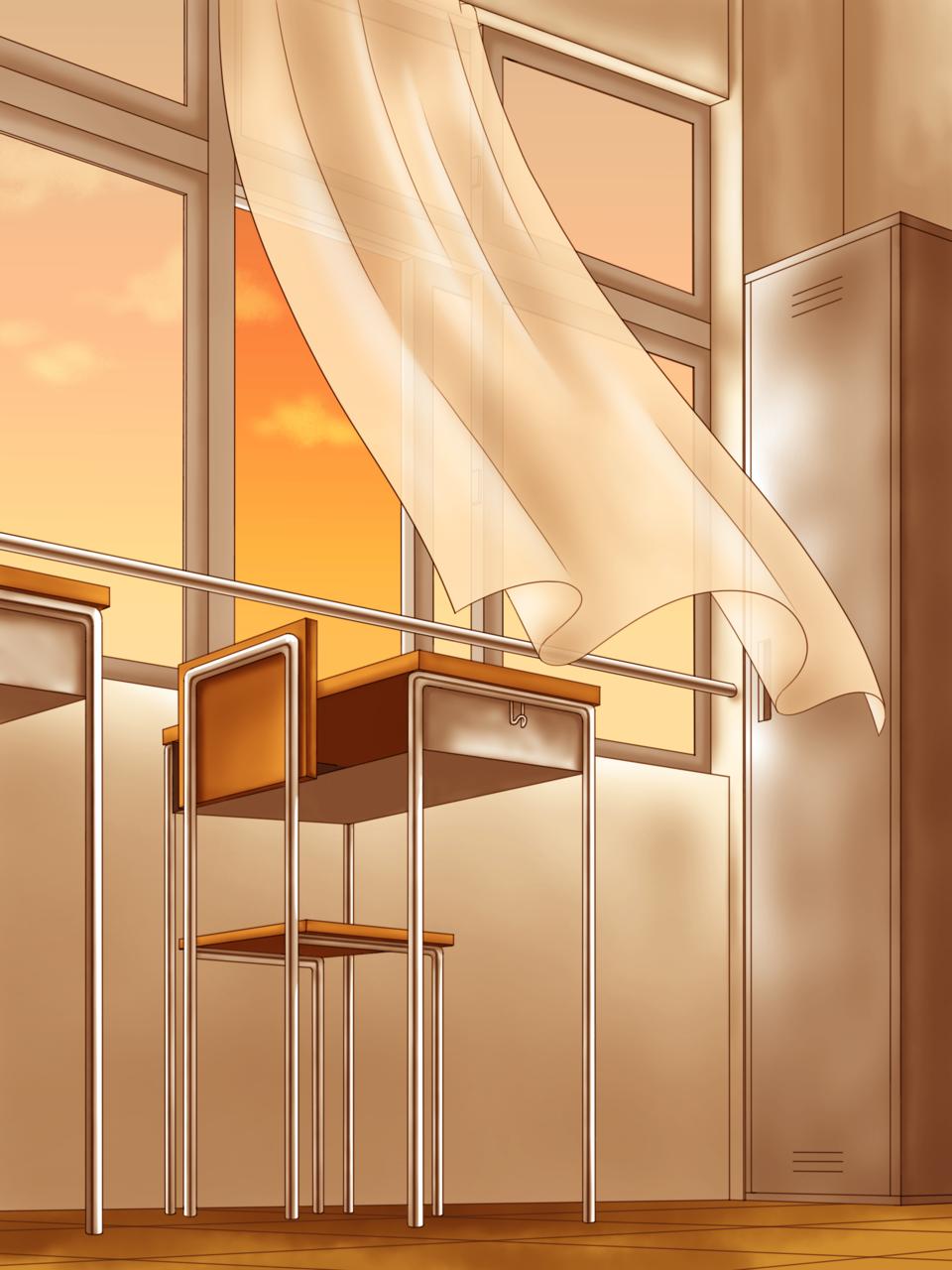 オレンジの教室 Illust of サクラリク GOMABOOKS_Contest