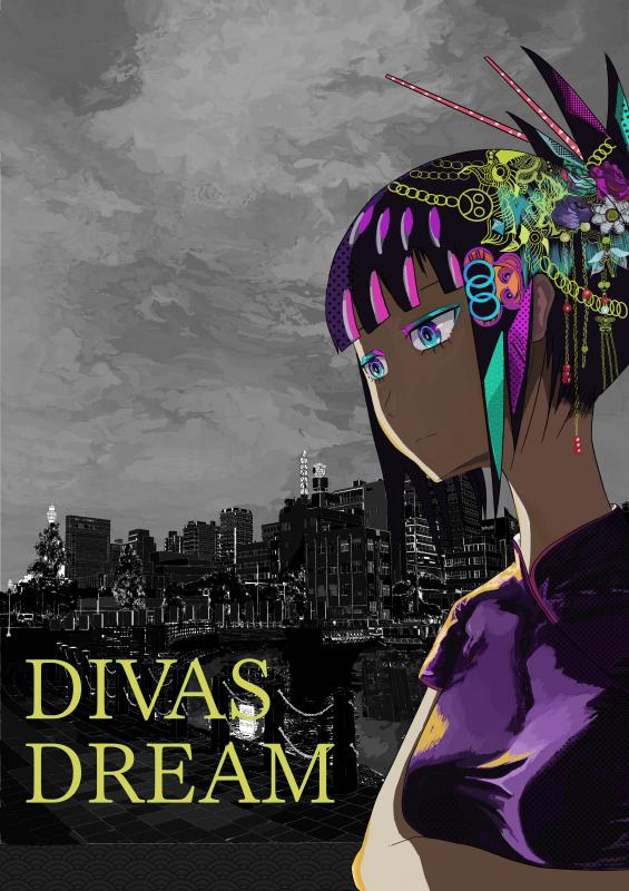 Diva dream 2 Illust of Mkultra09 Background_Image_Contest BackgroundImageContest_Using_Division