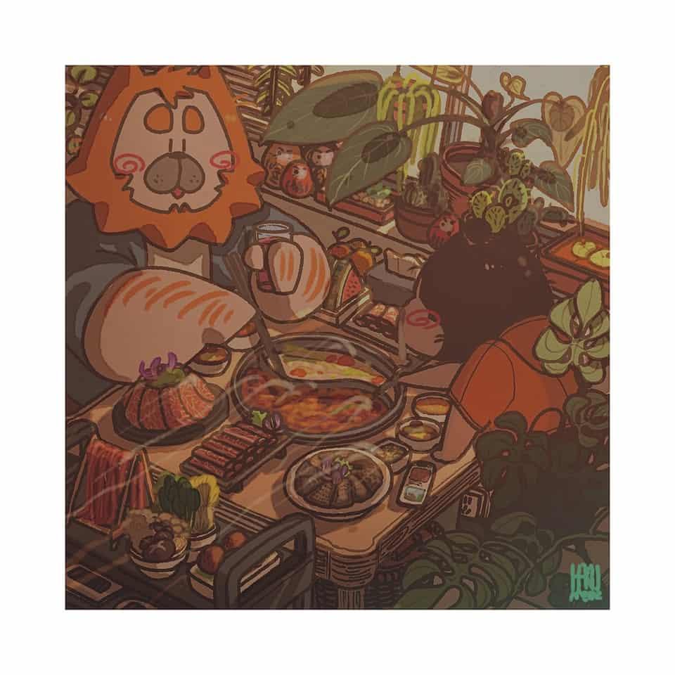 夏末 Illust of HAKUMIMI September2020_Contest:Furry furry