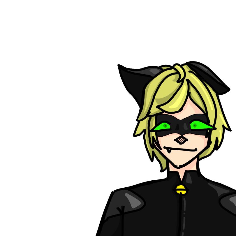 chat noir  Illust of 𝕄𝕣. 𝕃𝕠𝕧𝕖𝕣𝕄𝕒𝕟 baku rplr