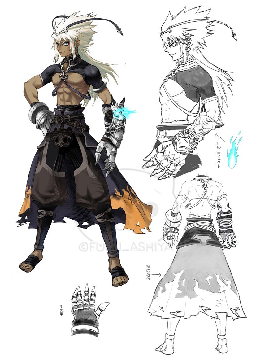 キャラクターデザイン01 Illust of 芦屋ふく