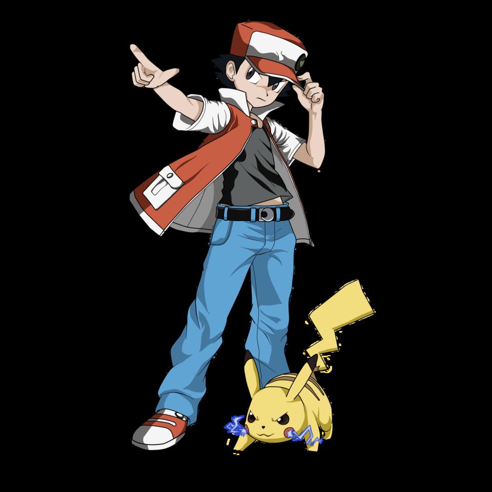 pokemon red \u0026 pikachu classic nathan23q illustrations medibangpokemon red \u0026 pikachu classic