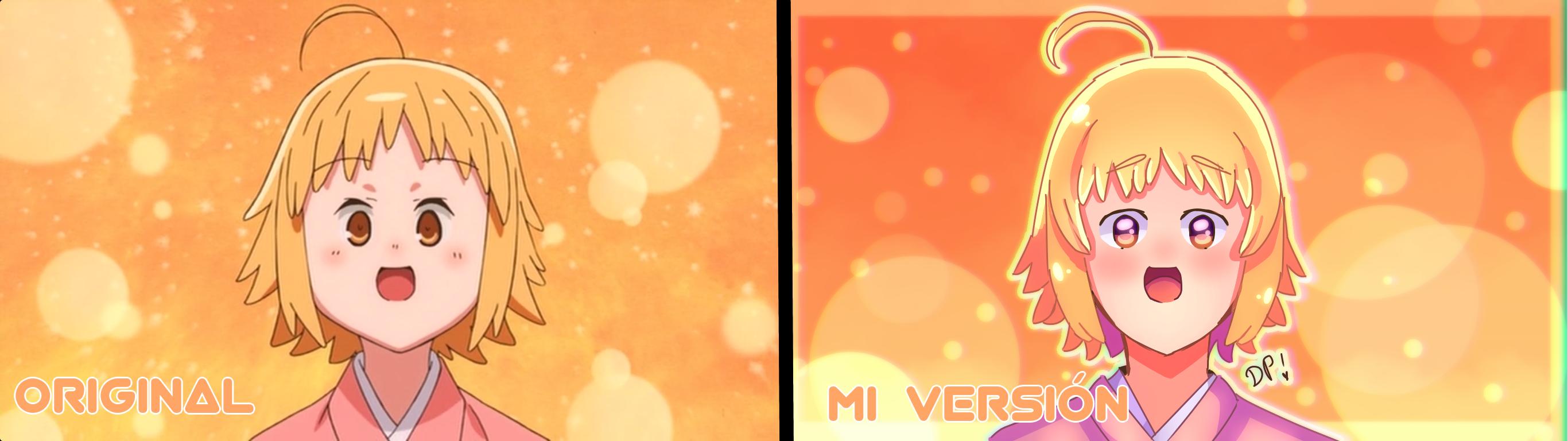 Original vs el mio  Illust of Mfg53 anime owo