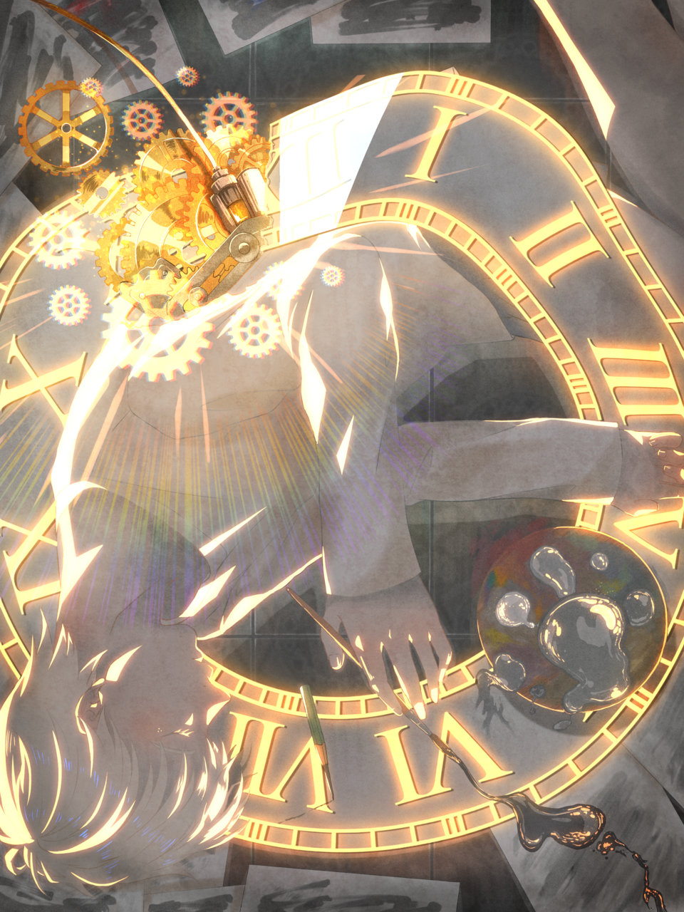 Clock boy
