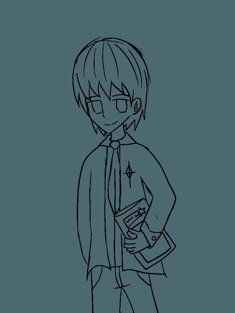 請問有甚麼需要?流星同學 Illust of 神祕的星彩star 星星 boy 訓練背景 自創角色 訓練陰影