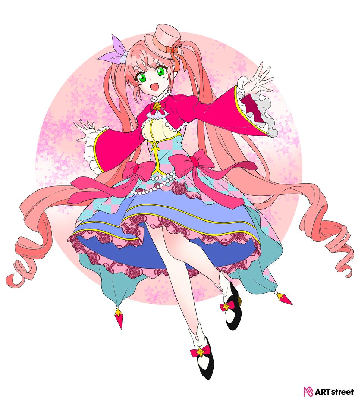 上色练习(偷懒了很多没画很多阴影) Illust of ⚝毛茸茸⚝互关 ColoringContest ponytail girl 女生 cute
