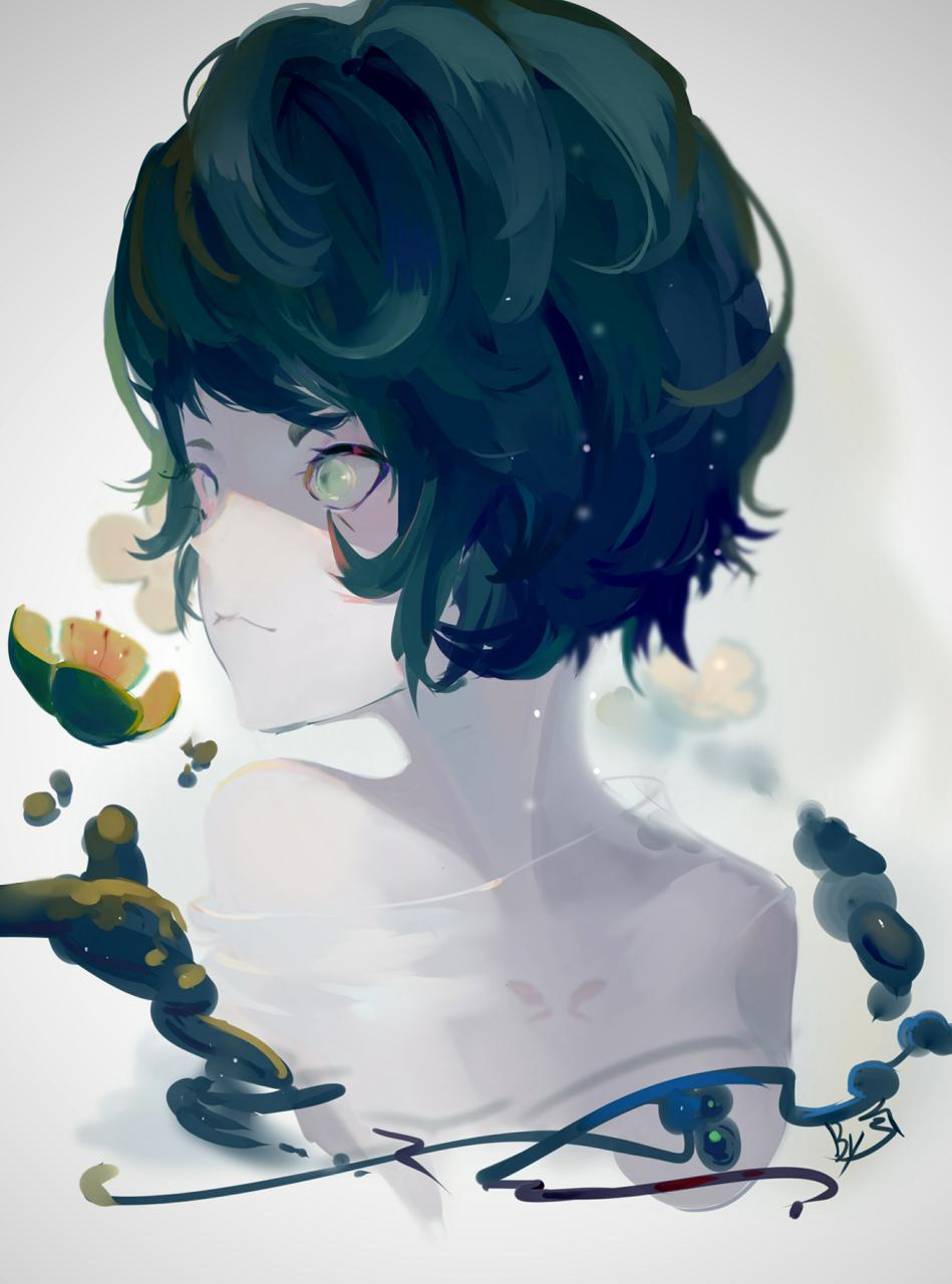 绿色  (仔细画的噢!!) Illust of ivu medibangpaint