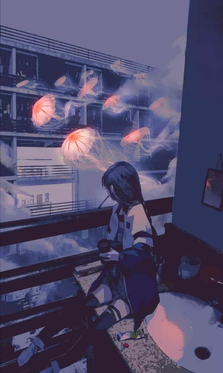 未标题 Illust of kakooooya kyoto-illust2019 海月 girl 美しい
