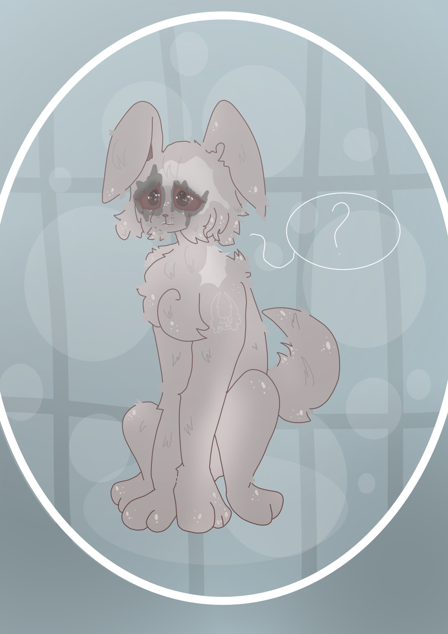 Edric Doggo Illust of Squidkid64 medibangpaint oc cute Doggo Hollow_Knight