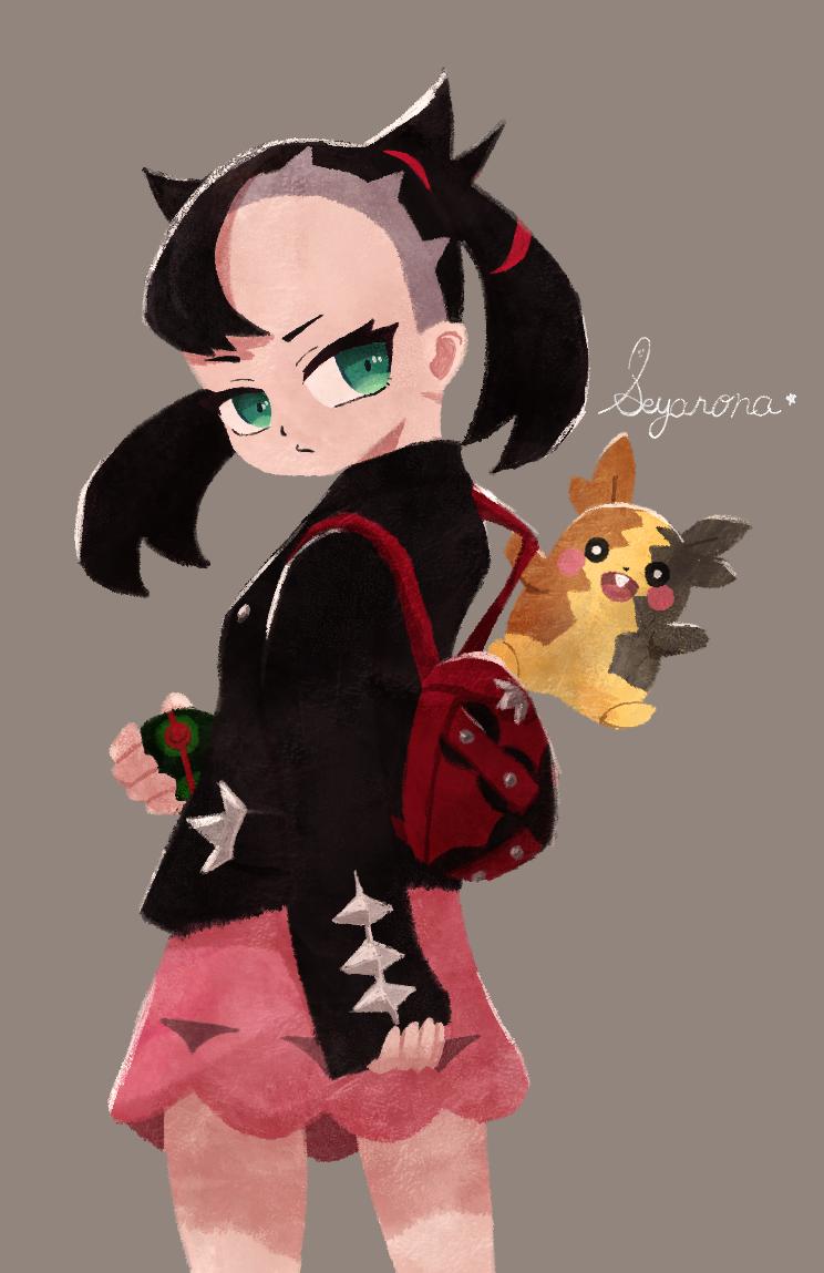 Marnie マリィ Illust of SEYA67 fanart fanfic マリィ(ポケモン) pokemon illustration girl Marnie game