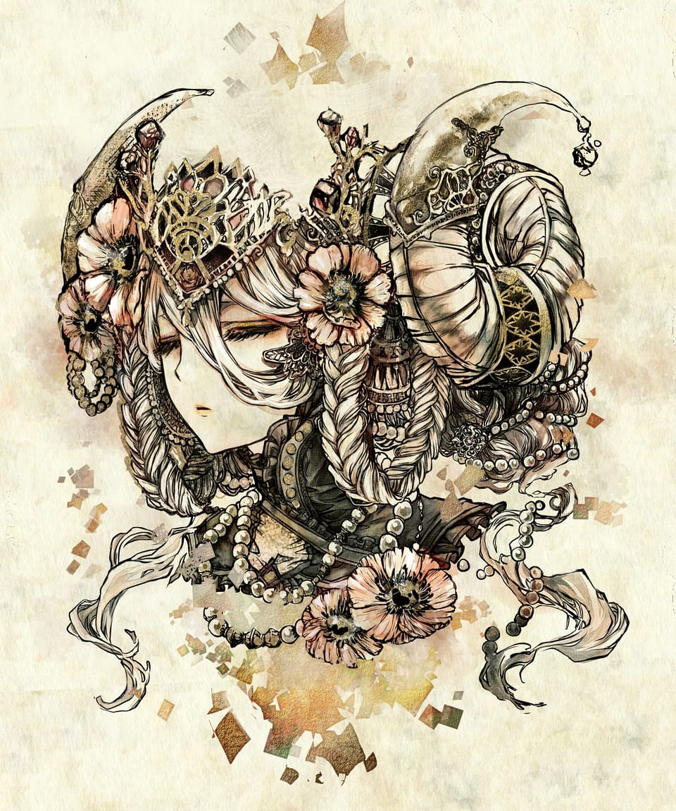 Illust of n oc original flower medibangpaint detailed beautiful