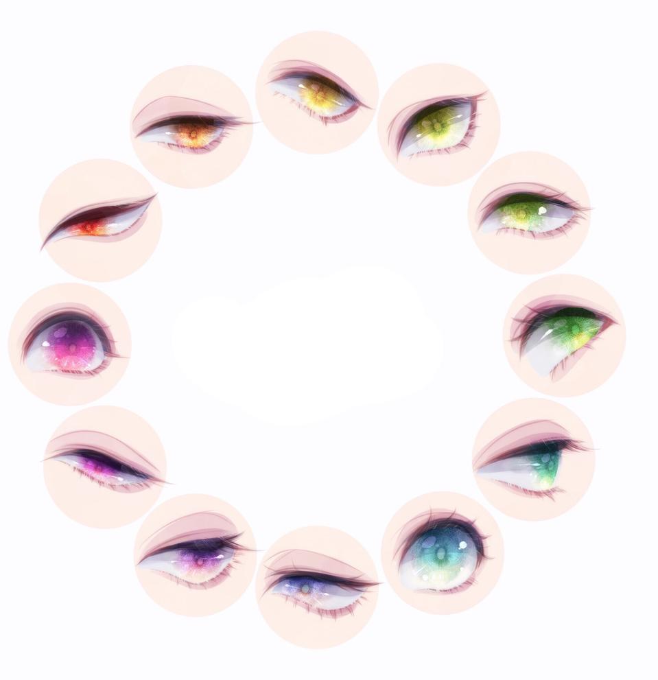 瞳 Illust of まみや medibangpaint eyes 綺麗