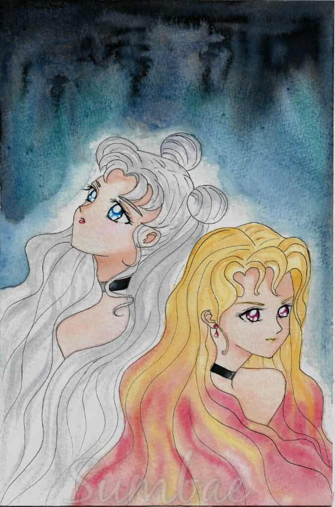 Serenity and sailor galaxia - Sumbae   Illustrations - ART street by