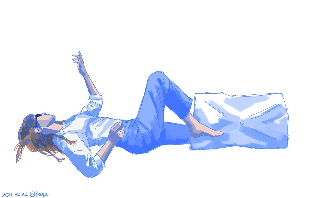 3인합작...인척해봤어요 Illust of 하나두울 character medibangpaint
