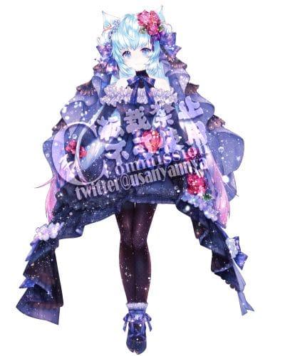 commission Illust of 兎ルイミ commission