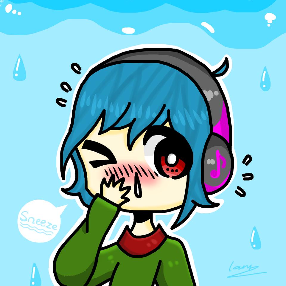 It's raining & I    *sneeze* - Lanna | Illustrations - ART