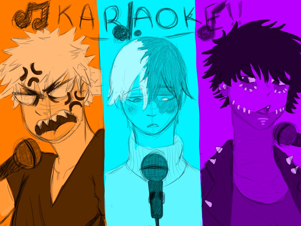 BNHA Karaoke!!