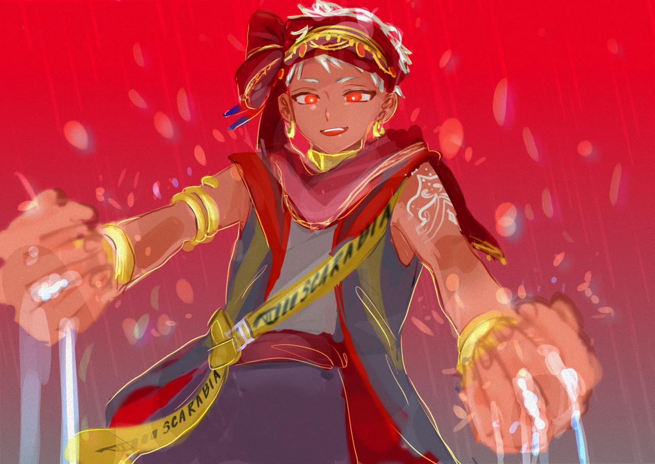 オアシスメイカー🦦 Illust of み KalimAl-Asim medibangpaint Twisted-Wonderland