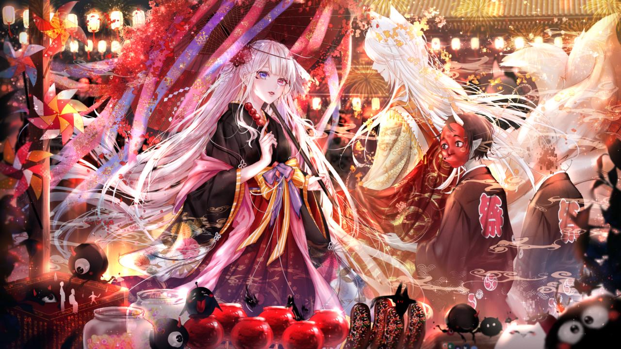 祭 Illust of 風彧KITY youkai