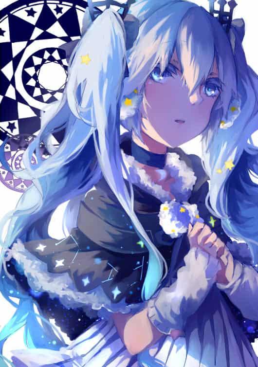 Snow Miku Illust of QinLe 雪ミク hatsunemiku VOCALOID