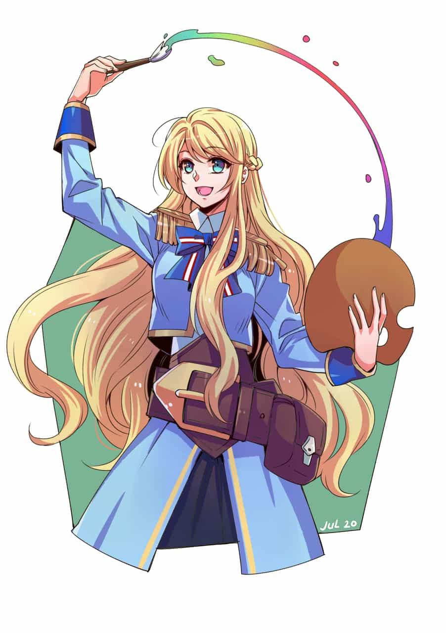 Elisa Illust of Crazy_Alice94 General_Election_Elisa MediBang_General_Election fanart