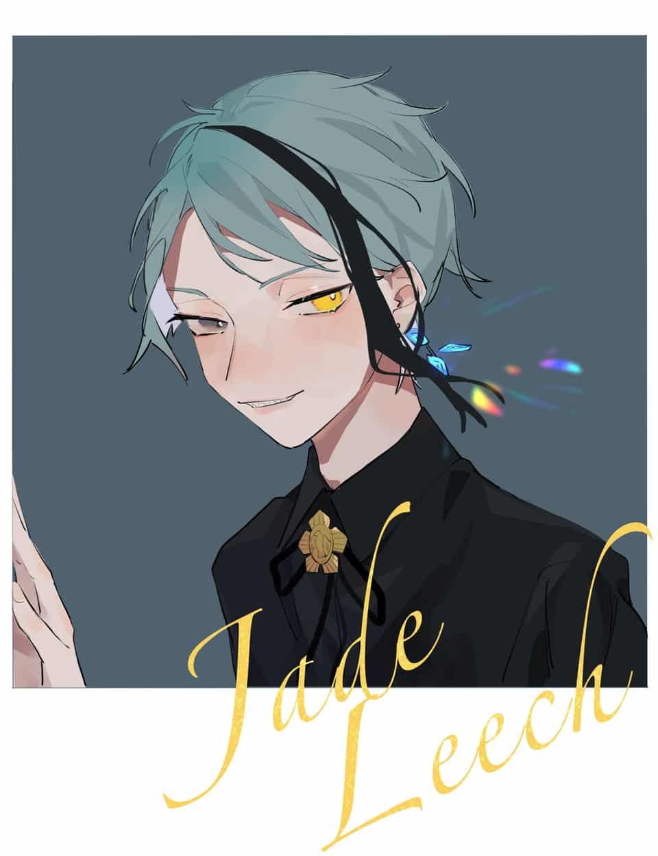 ハピバ! Illust of Huasa JadeLeech Twisted-Wonderland FloydLeech